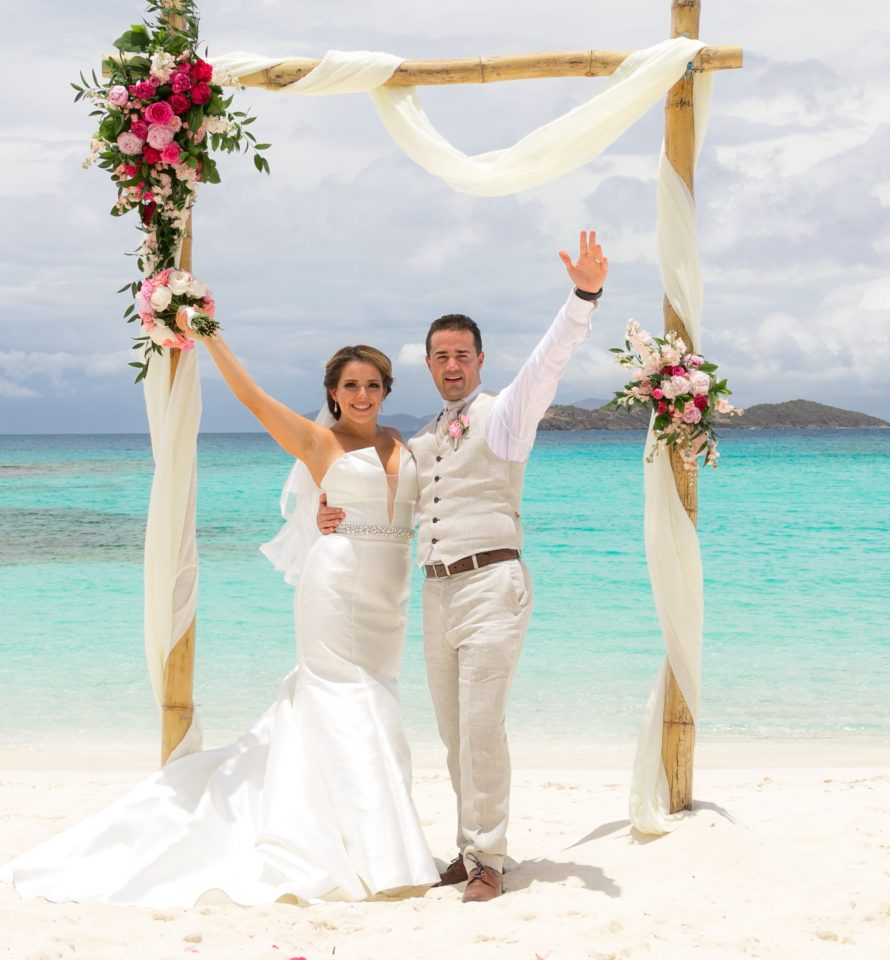 Cruise Ship Wedding in St. Thomas
