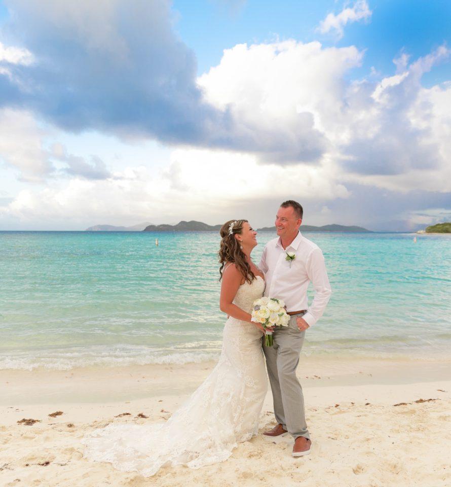 Lindquist Beach Wedding Portraits