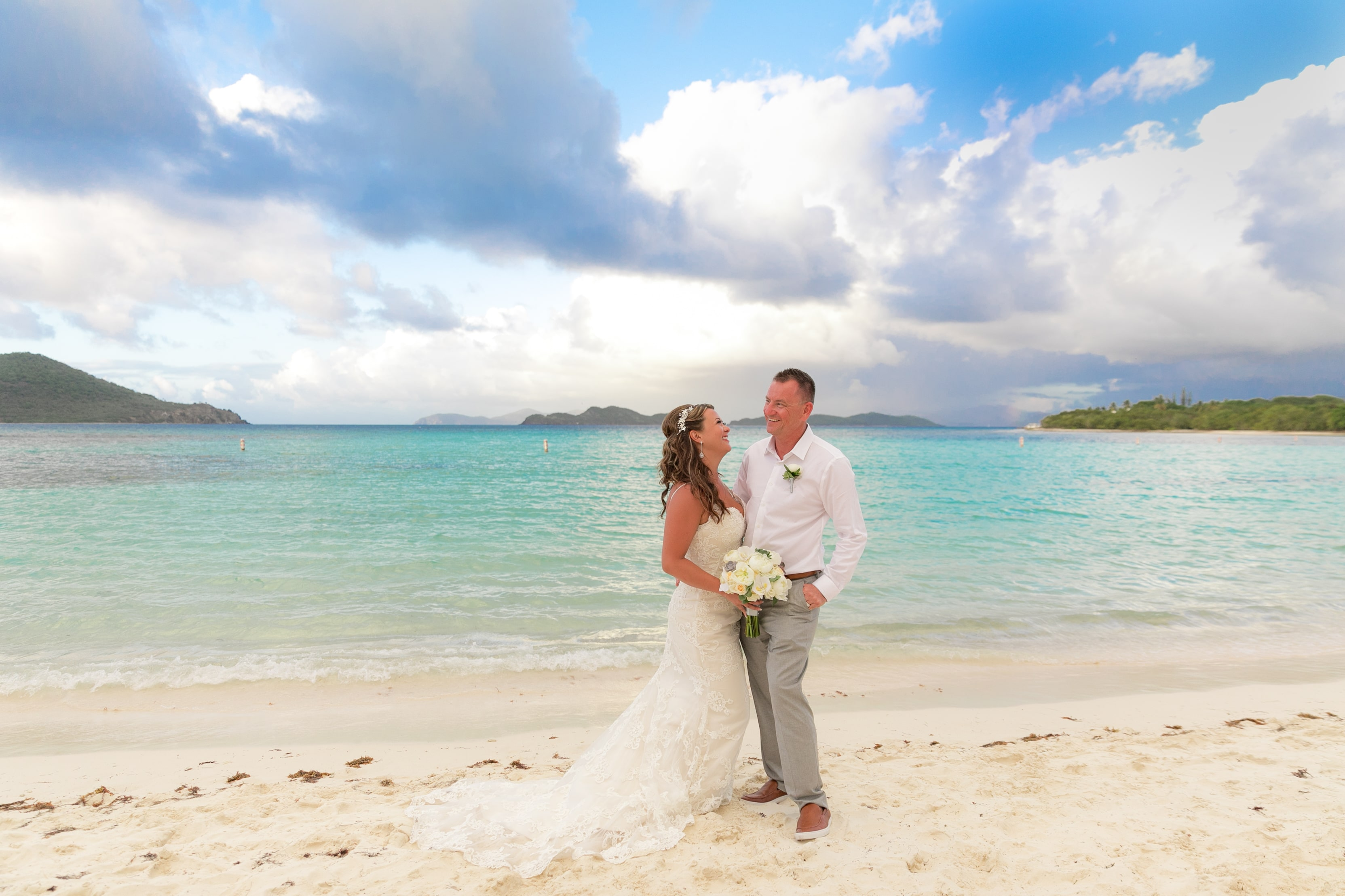 Lindquist Beach Wedding Love St Thomas Weddings