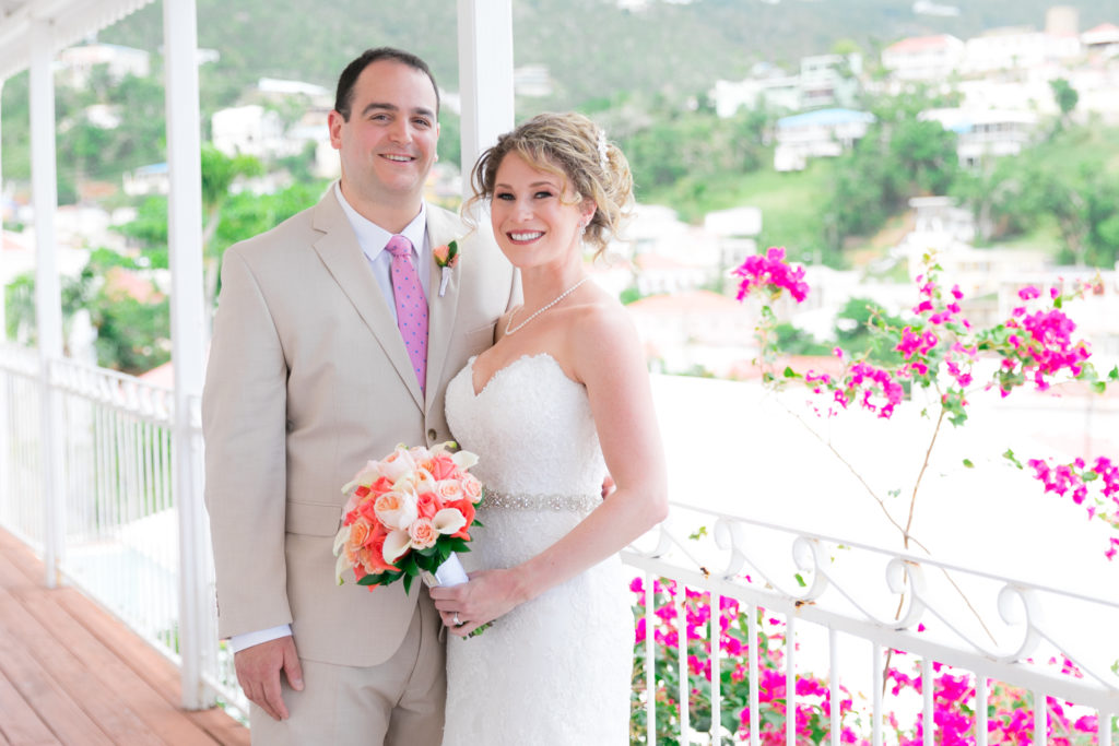 Jewish Wedding in St Thomas portraits