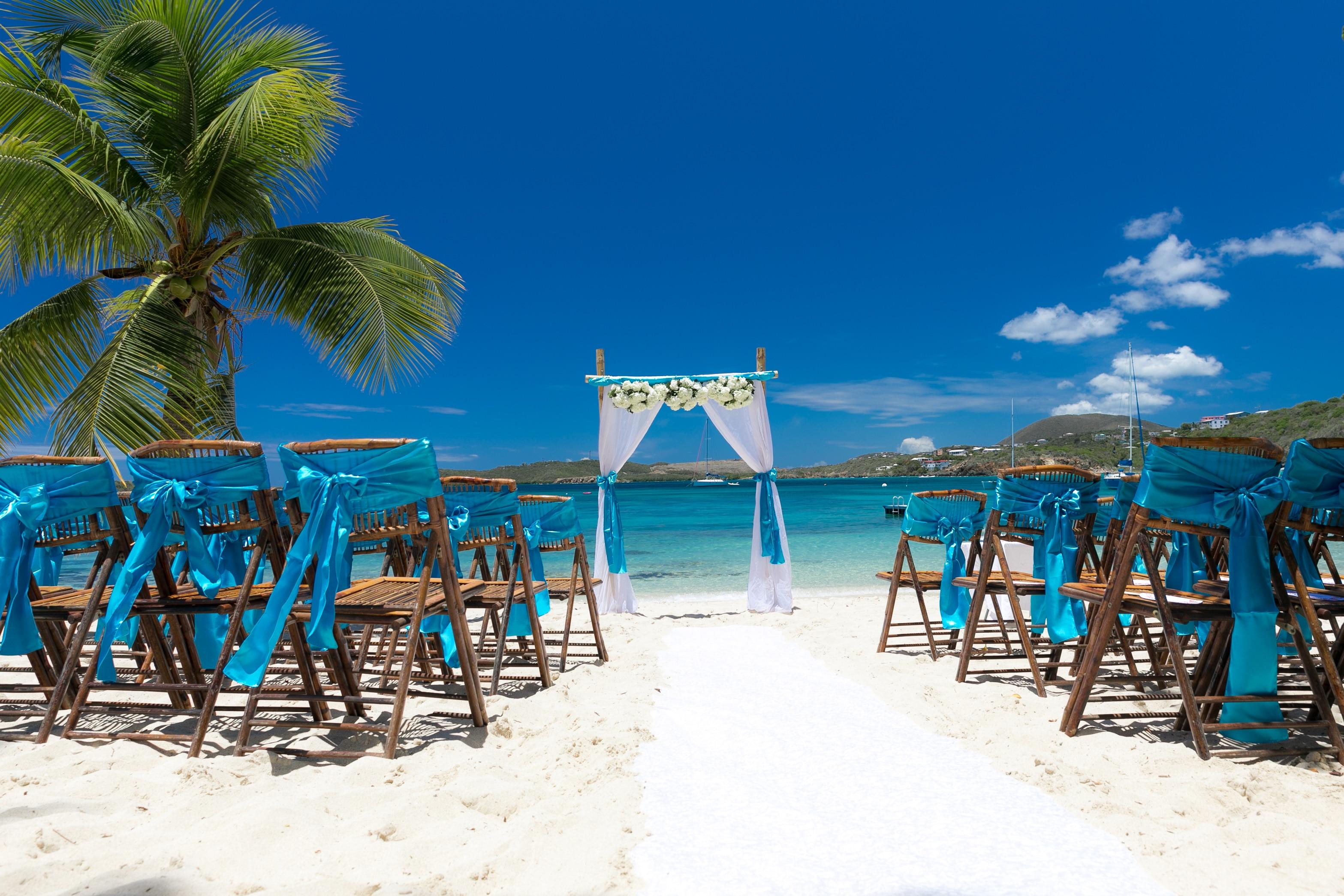 Weddings St Thomas | Blue Wedding In St Thomas St Thomas Weddings Irie Matrimony