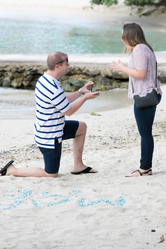 St. Thomas wedding proposal