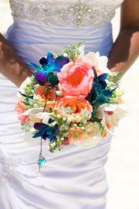 wedding bouquet in st thomas