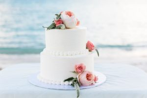 Lindquist Beach Wedding Cake