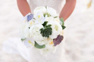 Lindquist Beach wedding Bouquet