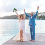 Boho Bride at Secret Harbour | St Thomas Wedding