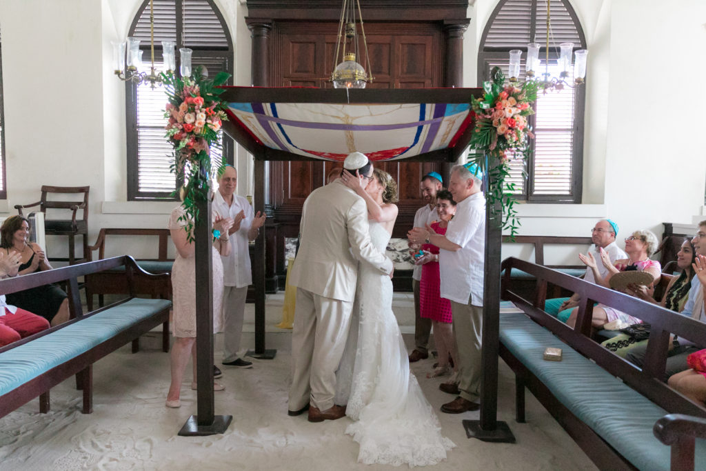 Jewish Wedding in St Thomas Chuppah