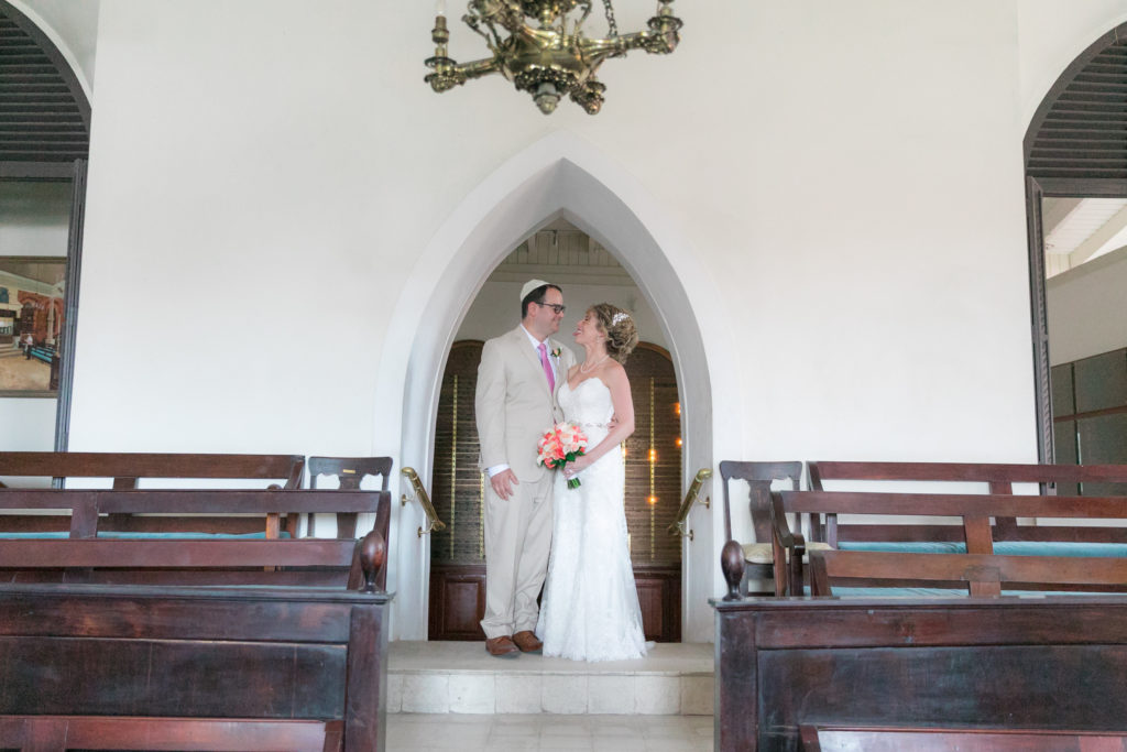 Jewish Wedding in St Thomas Synagogue