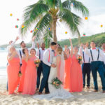 Post-Storm St Thomas Wedding at Secret Harbour