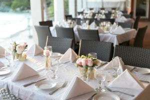 Island Wedding Reception Decor