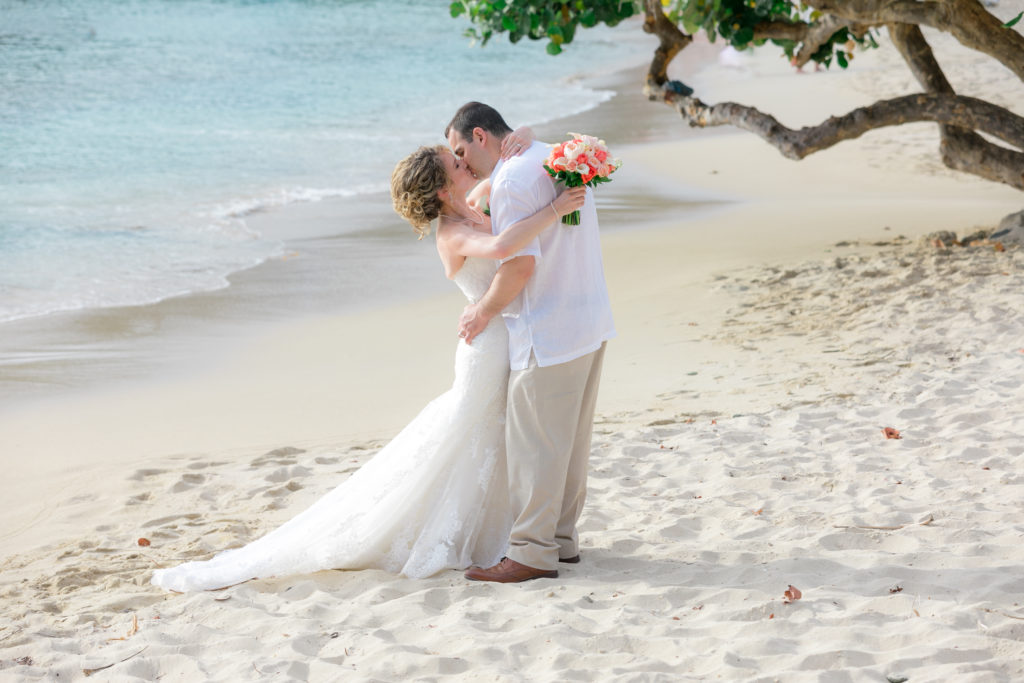 Jewish Wedding in St Thomas Beach portrait