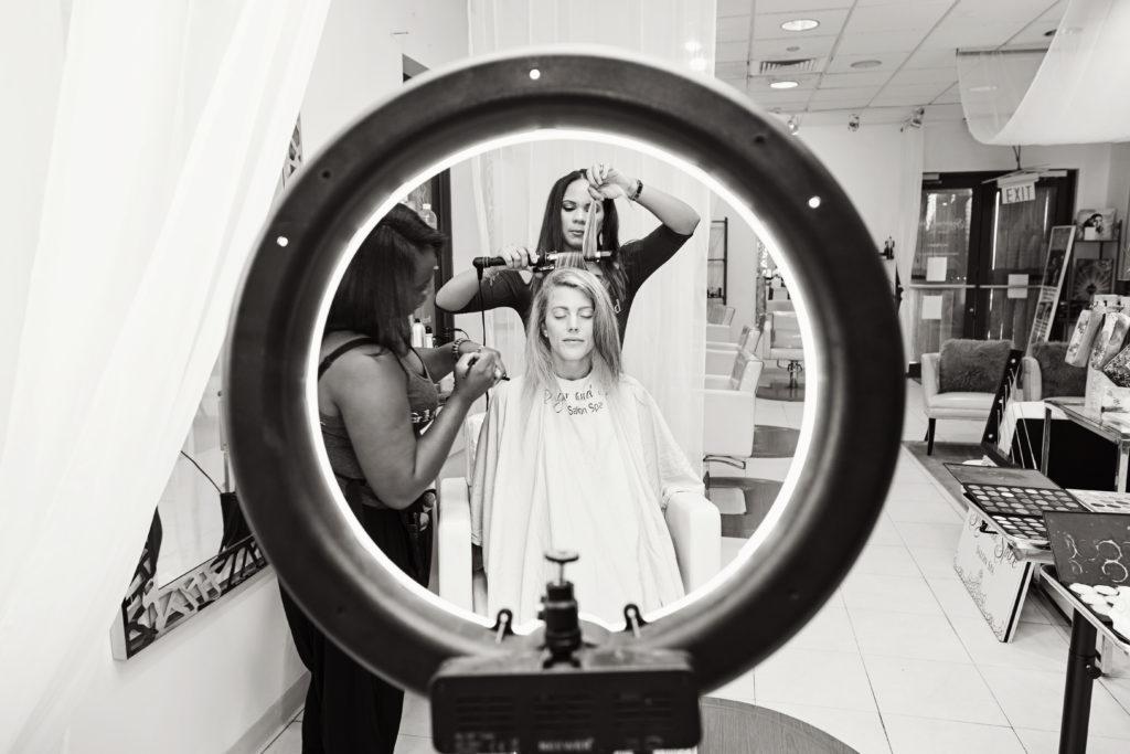 St Thomas Styled Shoot hair and Makeup vendors
