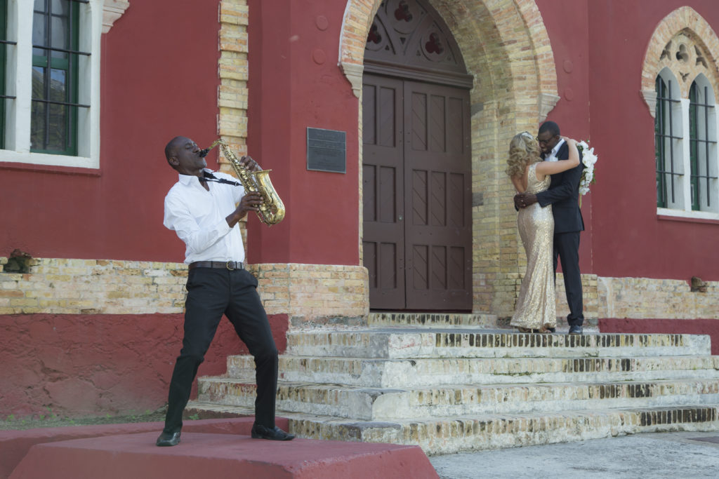 St Thomas Styled Shoot with Saxophone Sax