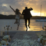 St Thomas Styled Shoot Dock Set Up
