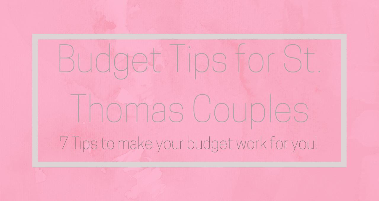 St Thomas Budget Bride