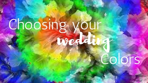 Choosing your wedding colors