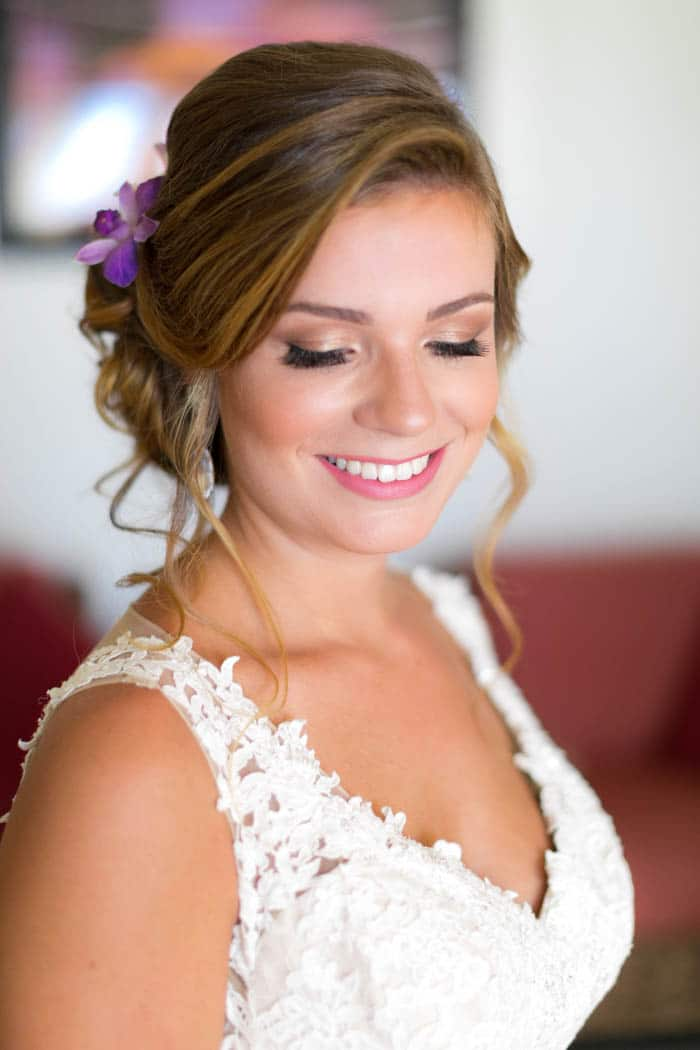 Hair and Makeup Details
