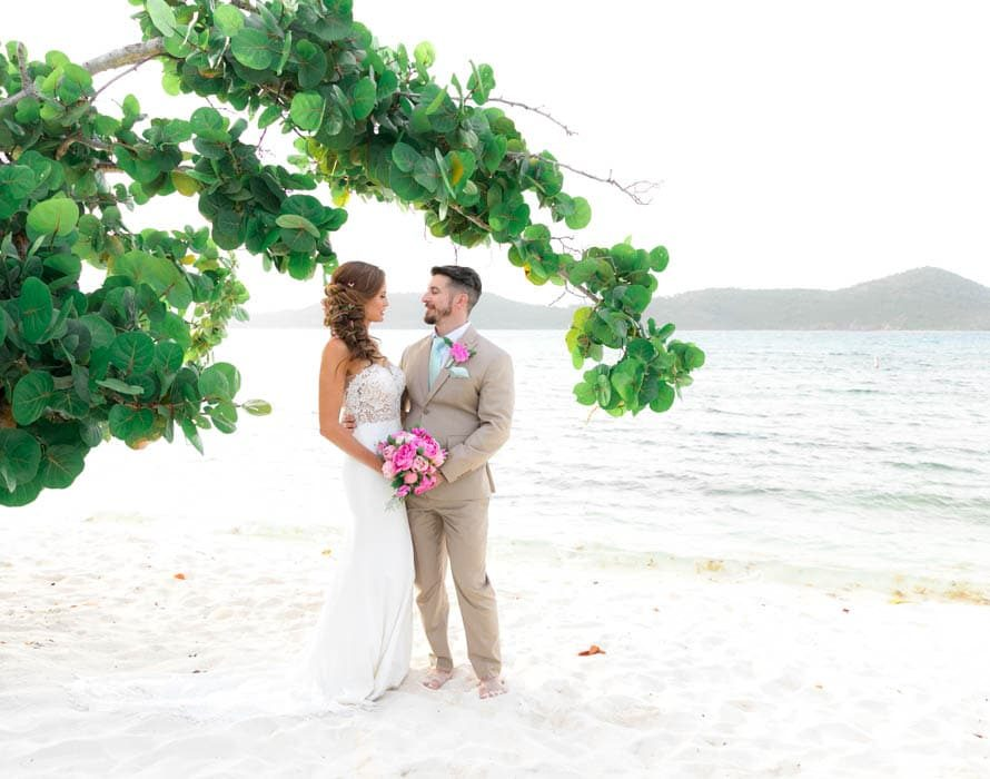 villa wedding in st thomas