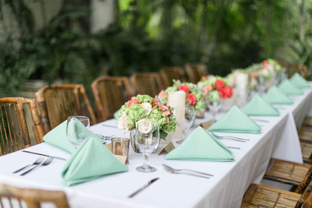 Reception Centerpiece Tables