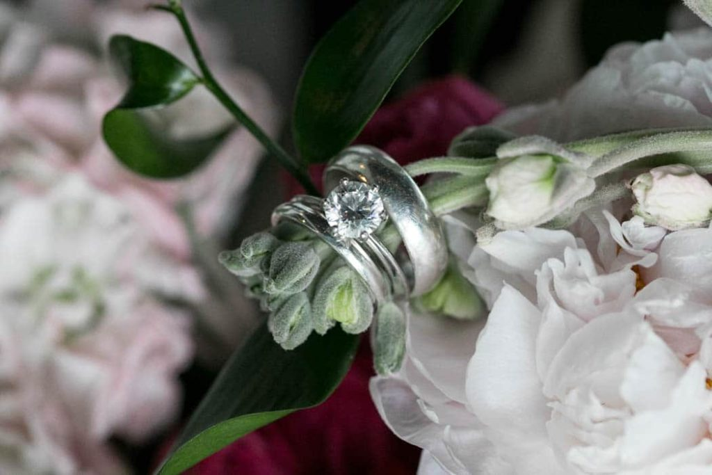 Ring Detail on Bouquet