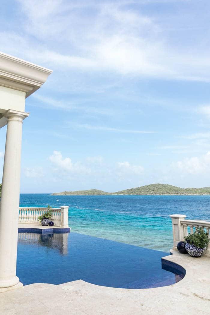 Villa Wedding Pool