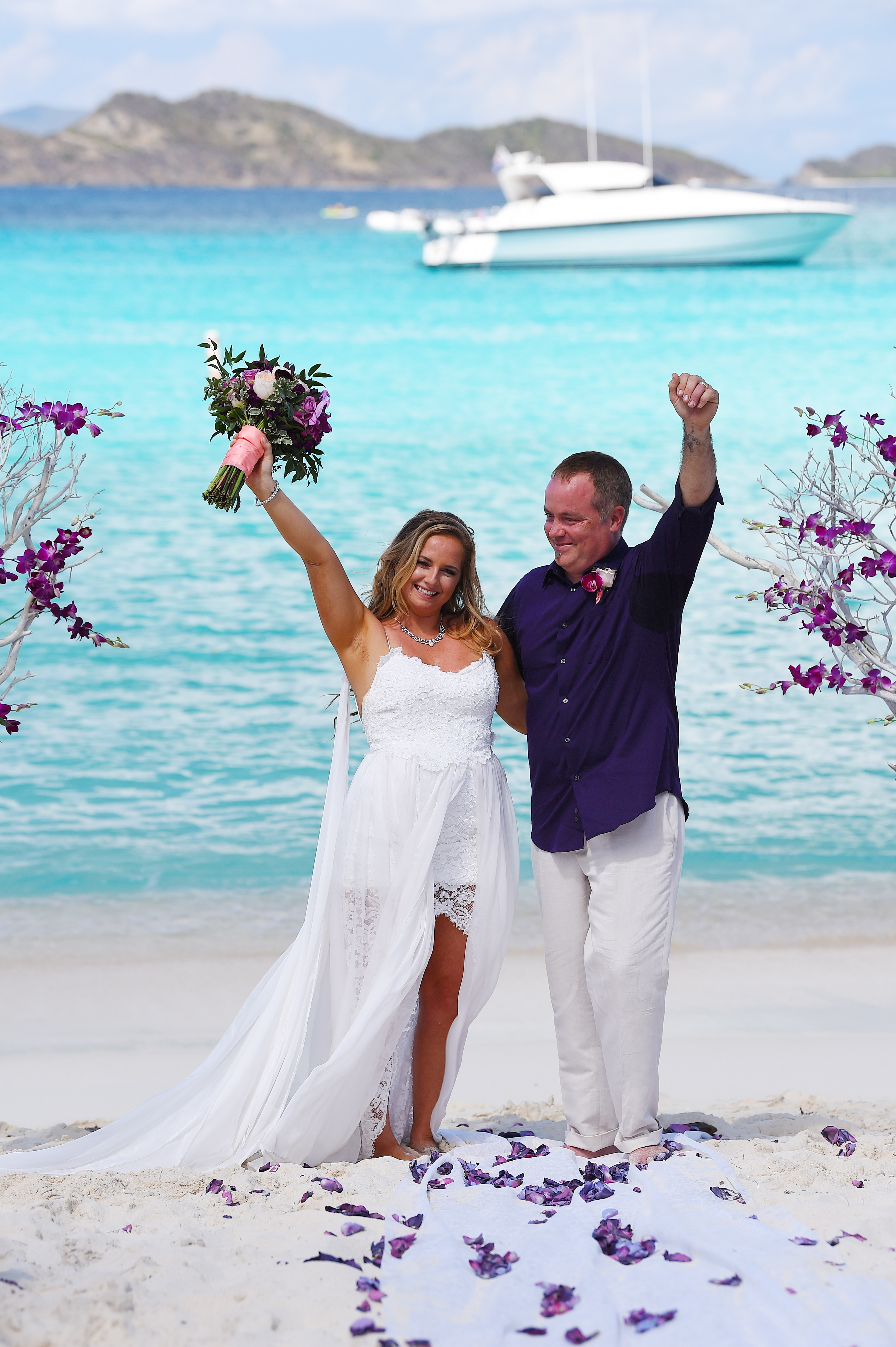 Cruise Ship Wedding | St. Thomas Weddings - Irie Matrimony